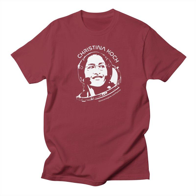 Women in Space: Christina Koch Men's Regular T-Shirt by Photon Illustration's Artist Shop
