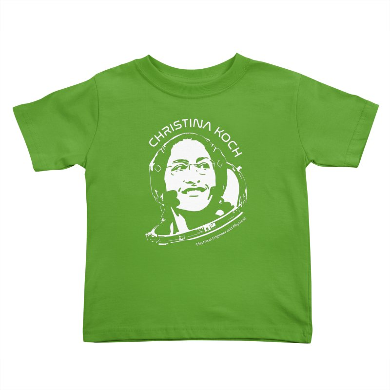 Women in Space: Christina Koch Kids Toddler T-Shirt by Photon Illustration's Artist Shop