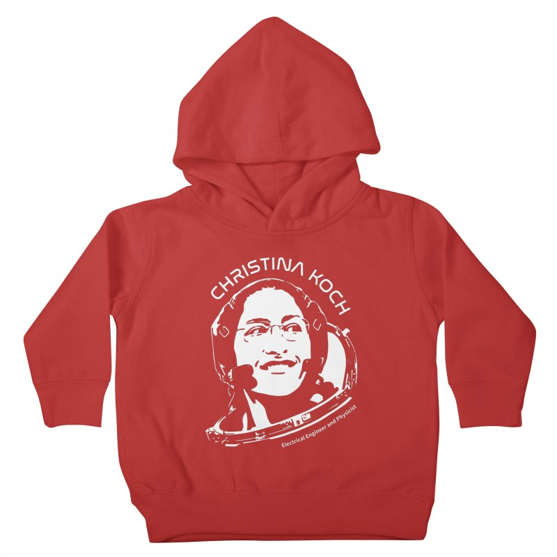 Women in Space: Christina Koch Kids Toddler Pullover Hoody by Photon Illustration's Artist Shop