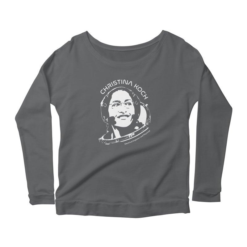 Women in Space: Christina Koch Women's Longsleeve T-Shirt by Photon Illustration's Artist Shop