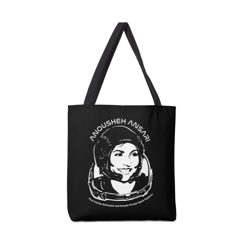 Women in Space: Anousheh Ansari Accessories Tote Bag Bag by Photon Illustration's Artist Shop