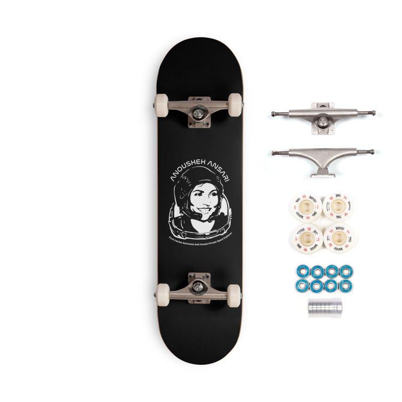 Women in Space: Anousheh Ansari Accessories Complete - Premium Skateboard by Photon Illustration's Artist Shop