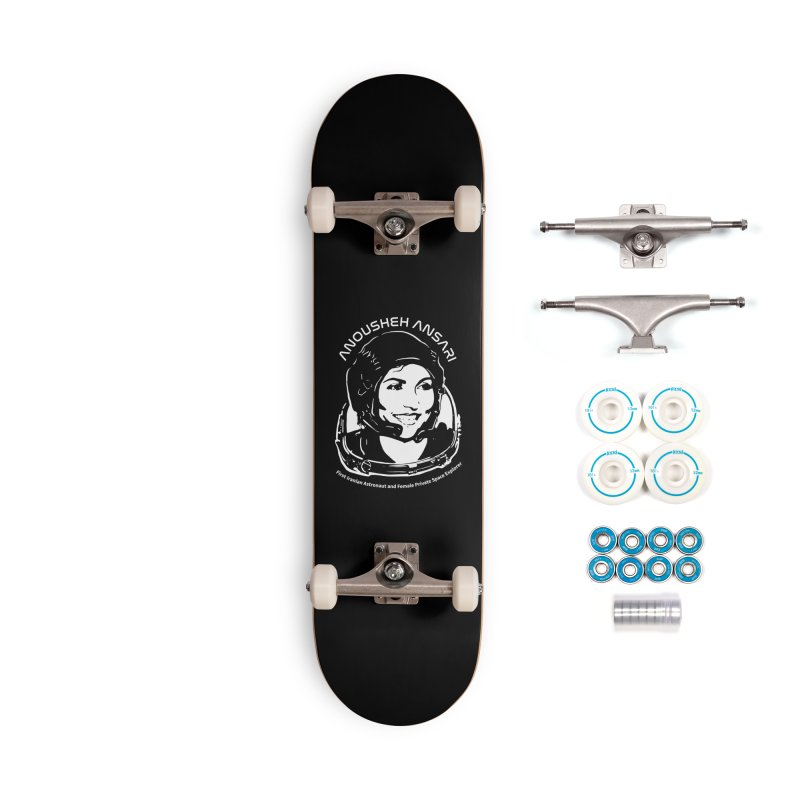 Women in Space: Anousheh Ansari Accessories Complete - Basic Skateboard by Photon Illustration's Artist Shop