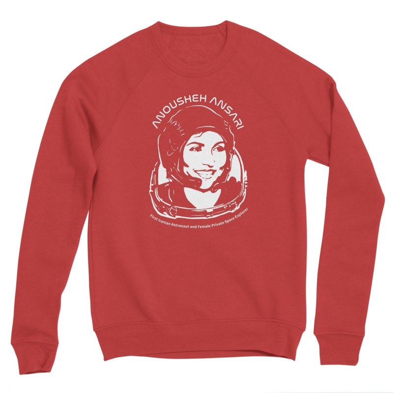 Women in Space: Anousheh Ansari Men's Sponge Fleece Sweatshirt by Photon Illustration's Artist Shop