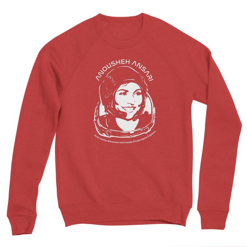Women in Space: Anousheh Ansari Women's Sponge Fleece Sweatshirt by Photon Illustration's Artist Shop