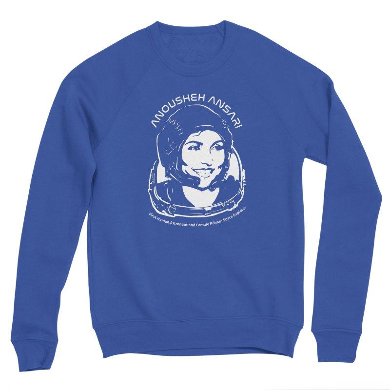 Women in Space: Anousheh Ansari Men's Sponge Fleece Sweatshirt by Photon Illustration's Artist Shop