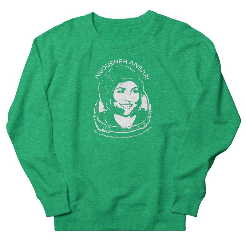 Women in Space: Anousheh Ansari Women's Sweatshirt by Photon Illustration's Artist Shop