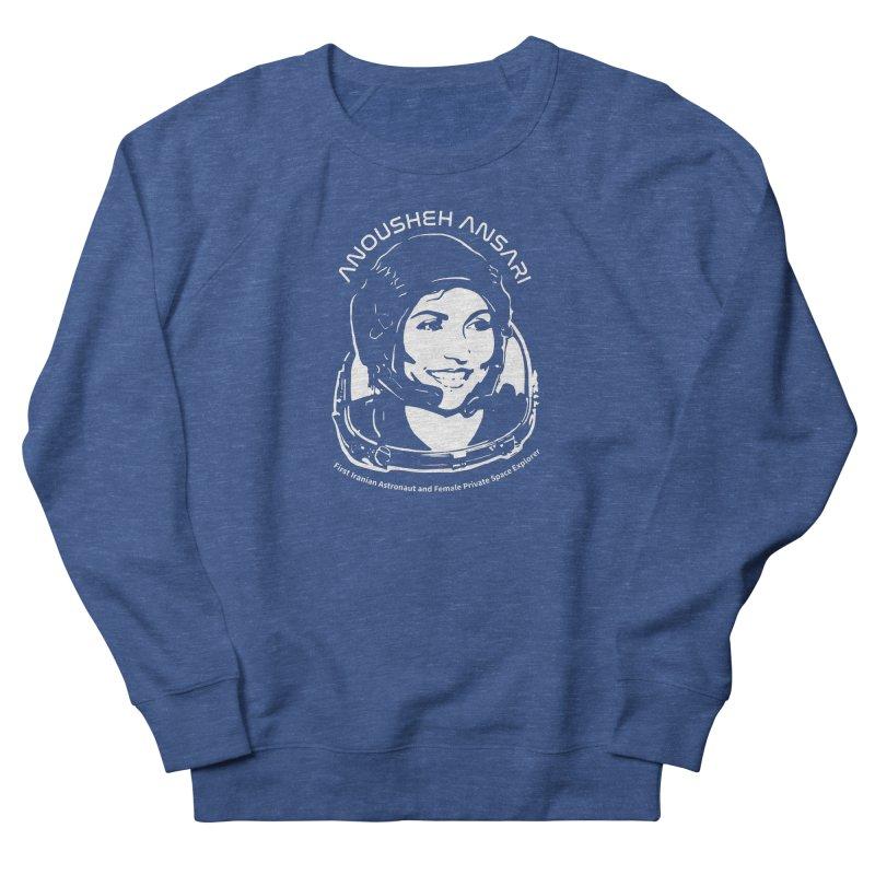 Women in Space: Anousheh Ansari Men's Sweatshirt by Photon Illustration's Artist Shop