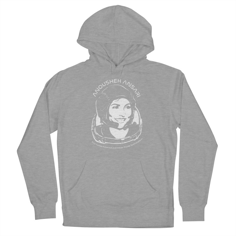 Women in Space: Anousheh Ansari Women's French Terry Pullover Hoody by Photon Illustration's Artist Shop
