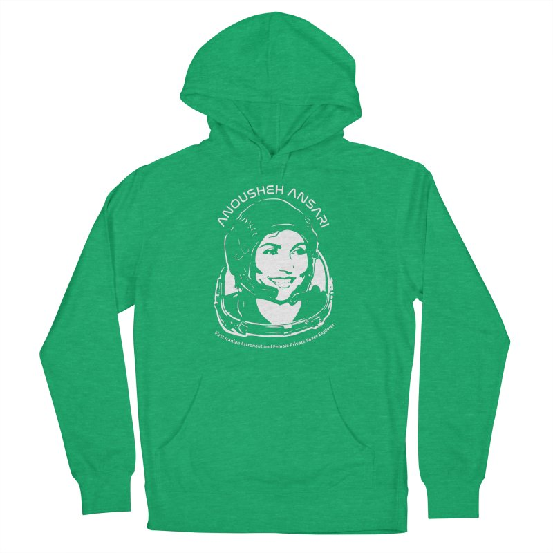 Women in Space: Anousheh Ansari Men's French Terry Pullover Hoody by Photon Illustration's Artist Shop