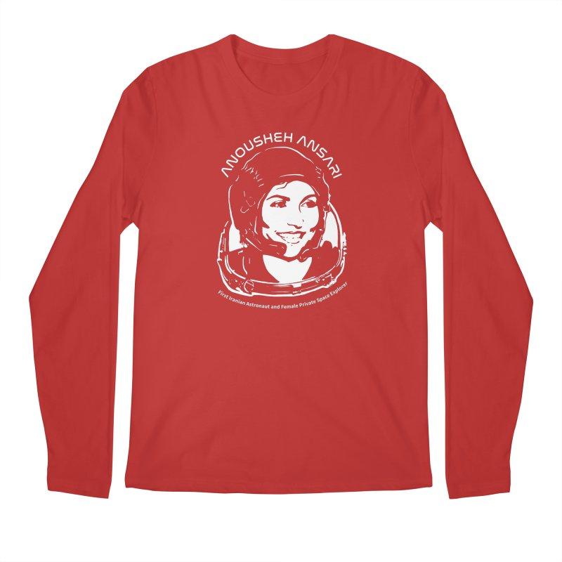 Women in Space: Anousheh Ansari Men's Regular Longsleeve T-Shirt by Photon Illustration's Artist Shop