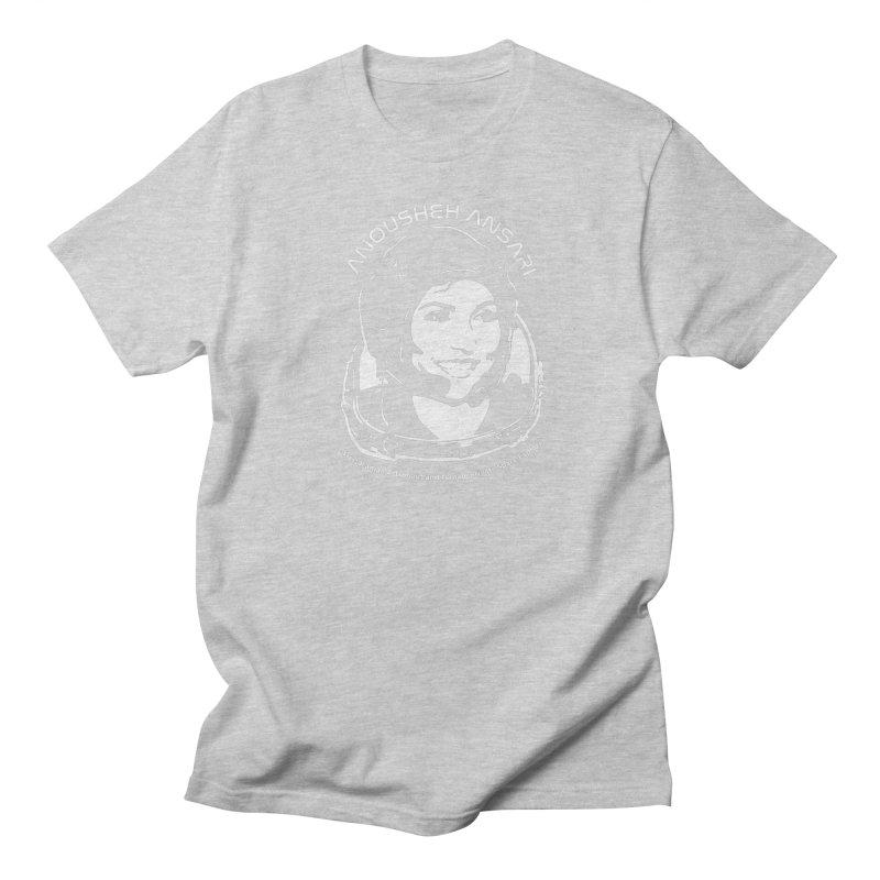 Women in Space: Anousheh Ansari Men's Regular T-Shirt by Photon Illustration's Artist Shop
