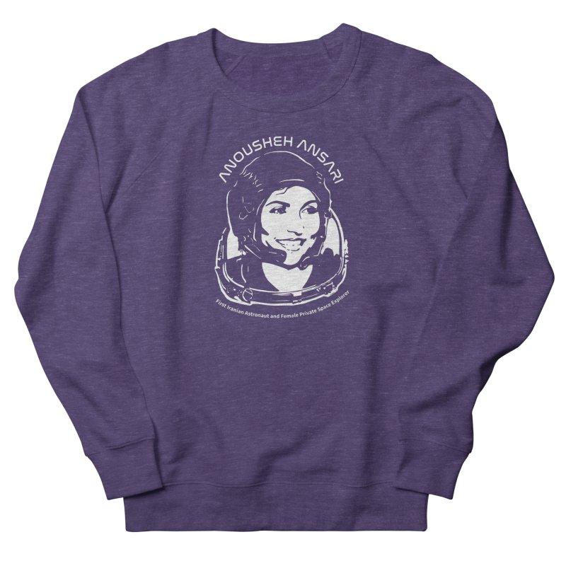 Women in Space: Anousheh Ansari Men's French Terry Sweatshirt by Photon Illustration's Artist Shop