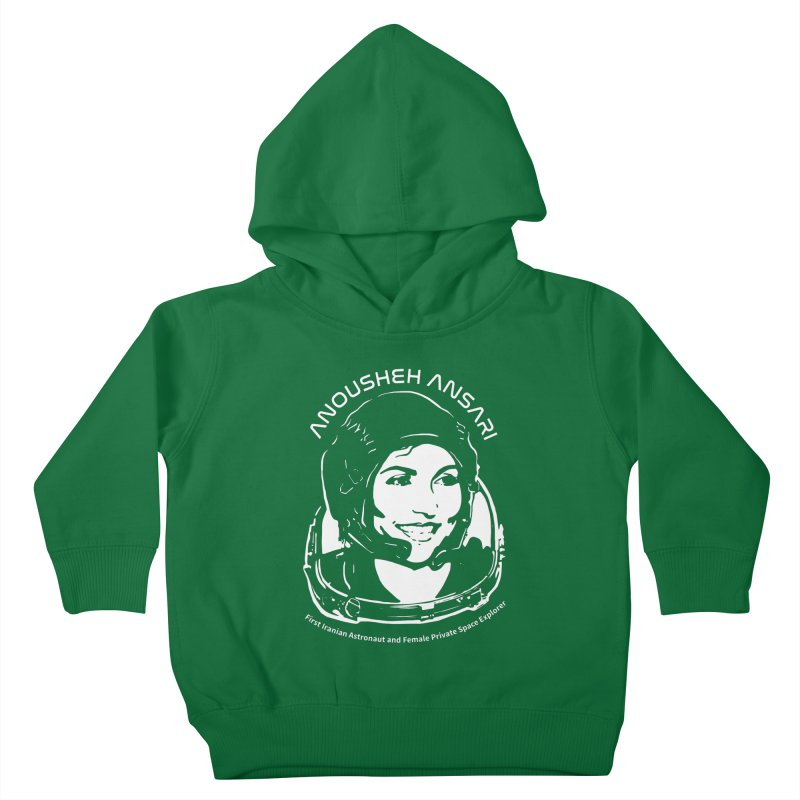 Women in Space: Anousheh Ansari Kids Toddler Pullover Hoody by Photon Illustration's Artist Shop