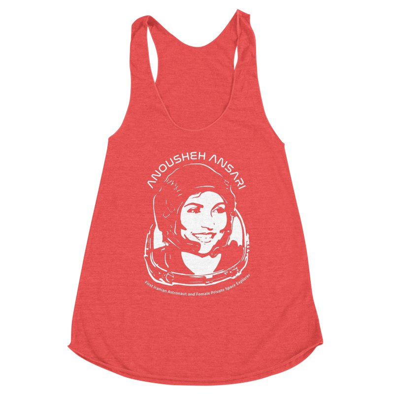 Women in Space: Anousheh Ansari Women's Tank by Photon Illustration's Artist Shop