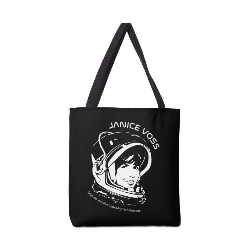 Women in Space: Janice Voss Accessories Tote Bag Bag by Photon Illustration's Artist Shop