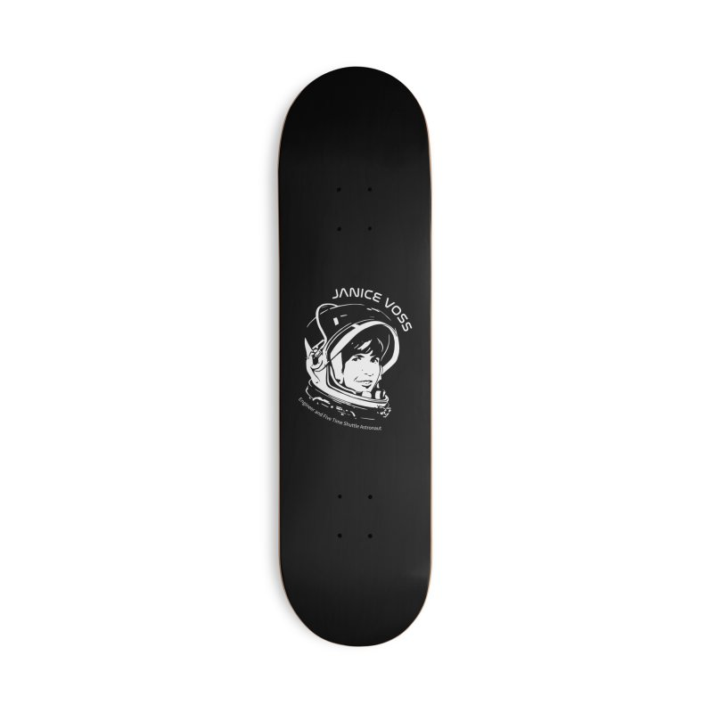 Women in Space: Janice Voss Accessories Deck Only Skateboard by Photon Illustration's Artist Shop