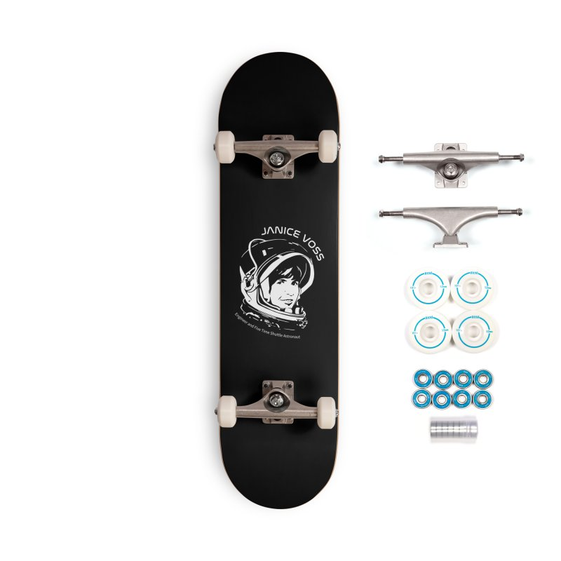 Women in Space: Janice Voss Accessories Complete - Basic Skateboard by Photon Illustration's Artist Shop