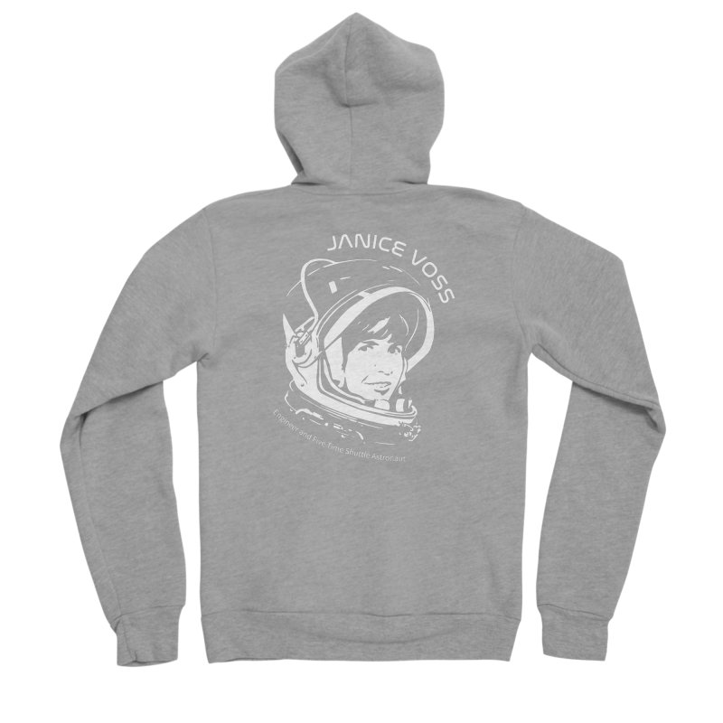 Women in Space: Janice Voss Men's Sponge Fleece Zip-Up Hoody by Photon Illustration's Artist Shop