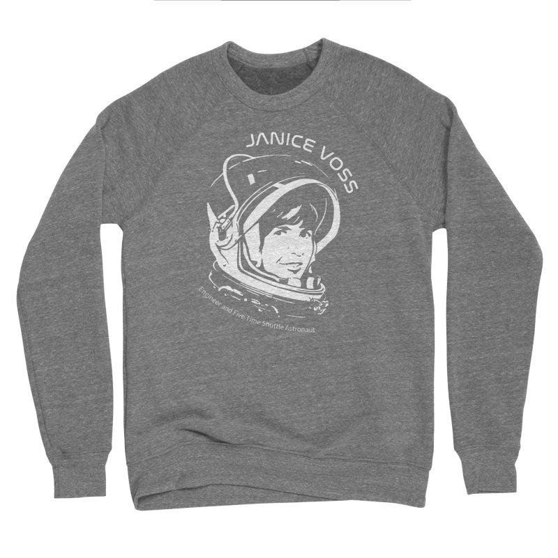 Women in Space: Janice Voss Men's Sponge Fleece Sweatshirt by Photon Illustration's Artist Shop