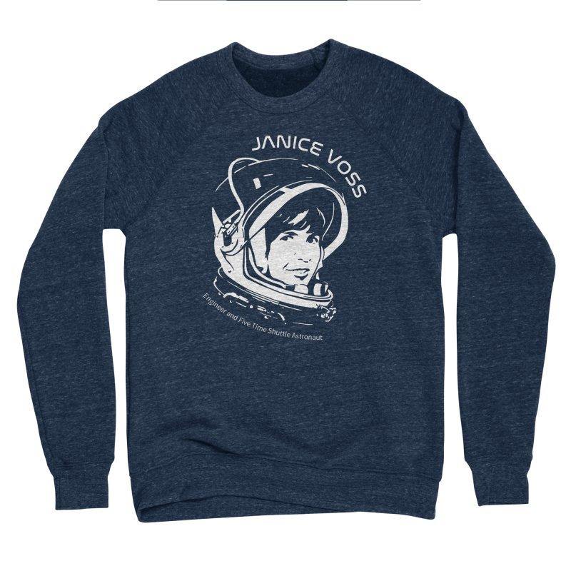 Women in Space: Janice Voss Women's Sponge Fleece Sweatshirt by Photon Illustration's Artist Shop