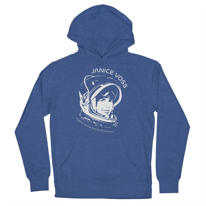 Women in Space: Janice Voss Men's French Terry Pullover Hoody by Photon Illustration's Artist Shop
