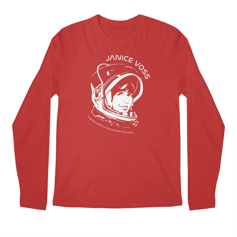 Women in Space: Janice Voss Men's Regular Longsleeve T-Shirt by Photon Illustration's Artist Shop