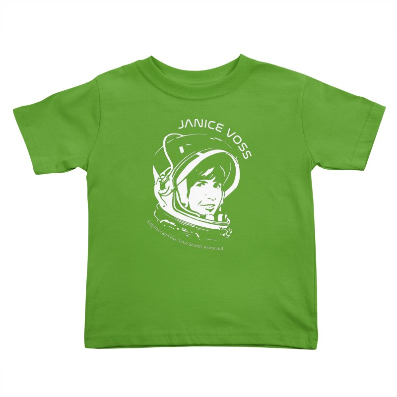 Women in Space: Janice Voss Kids Toddler T-Shirt by Photon Illustration's Artist Shop