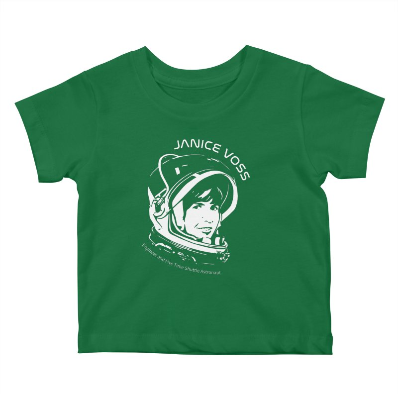 Women in Space: Janice Voss Kids Baby T-Shirt by Photon Illustration's Artist Shop