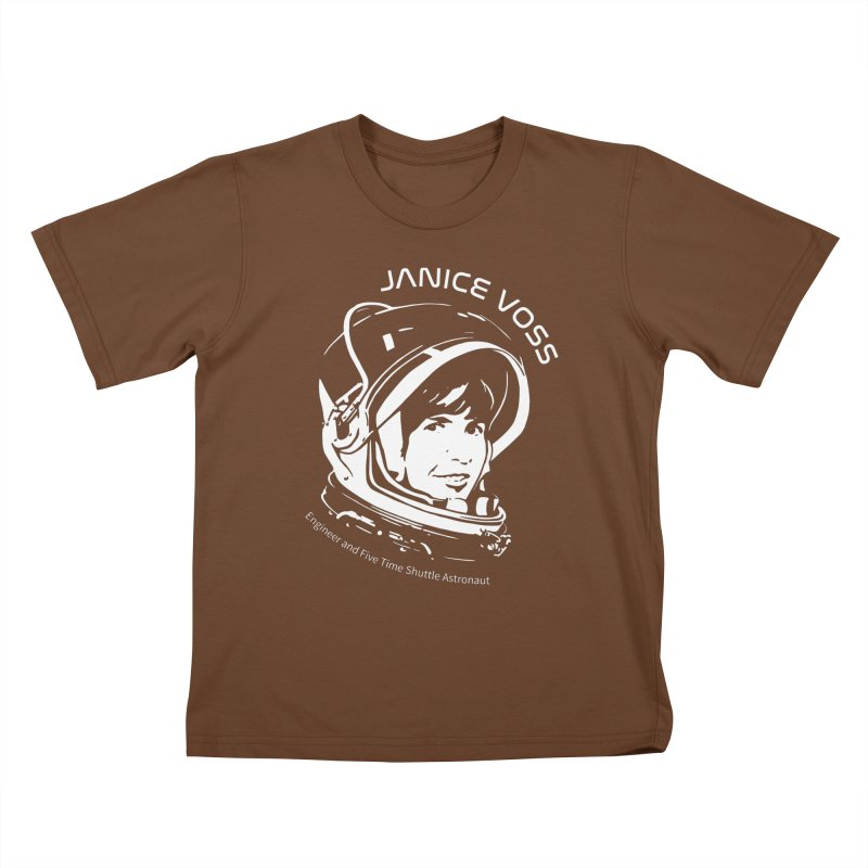 Women in Space: Janice Voss Kids T-Shirt by Photon Illustration's Artist Shop