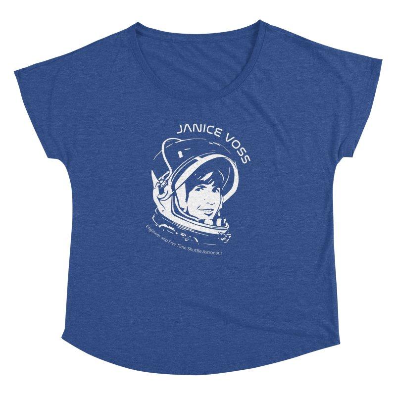Women in Space: Janice Voss Women's Dolman Scoop Neck by Photon Illustration's Artist Shop