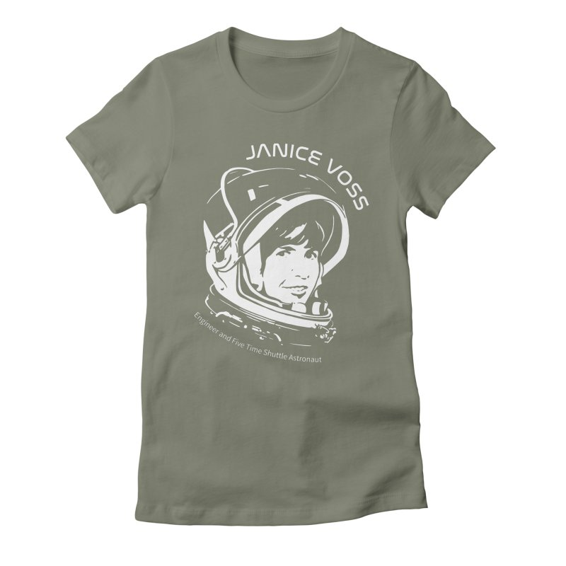 Women in Space: Janice Voss Women's Fitted T-Shirt by Photon Illustration's Artist Shop
