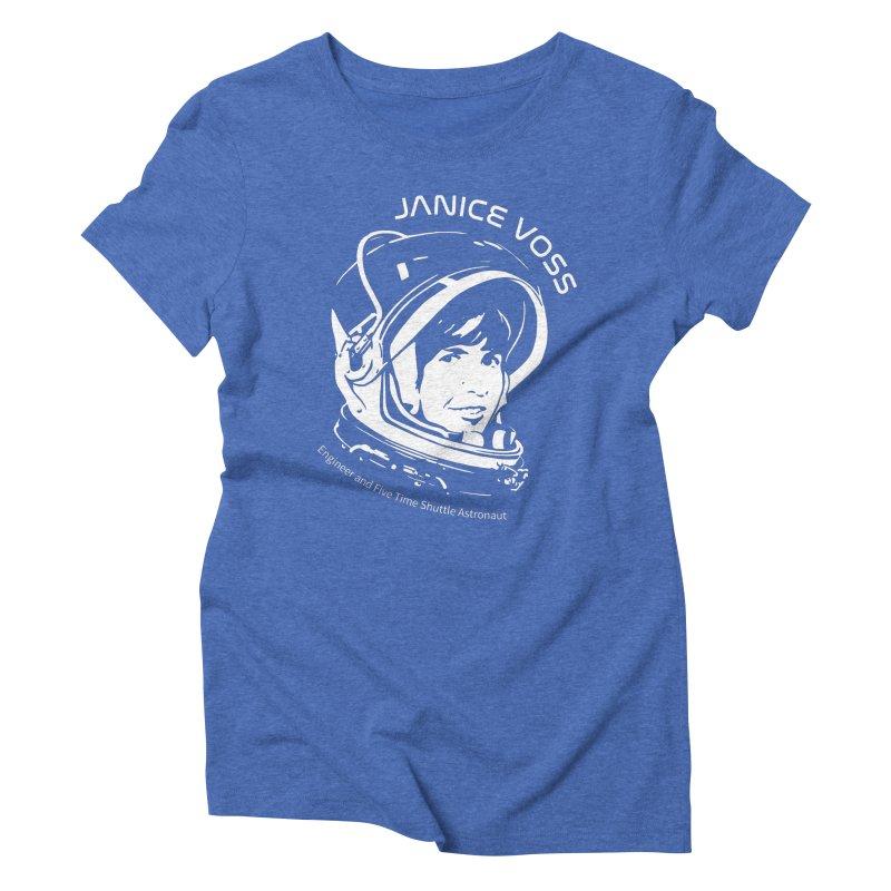 Women in Space: Janice Voss Women's Triblend T-Shirt by Photon Illustration's Artist Shop