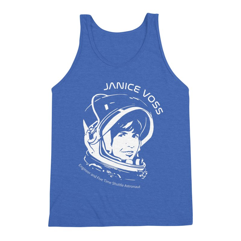 Women in Space: Janice Voss Men's Triblend Tank by Photon Illustration's Artist Shop