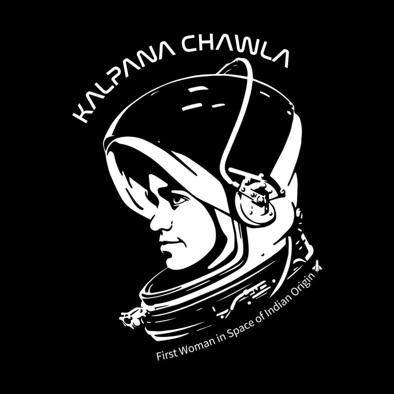 Women in Space: Kalpana Chawla Accessories Water Bottle by Photon Illustration's Artist Shop