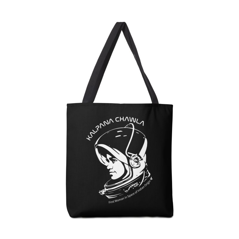 Women in Space: Kalpana Chawla Accessories Tote Bag Bag by Photon Illustration's Artist Shop