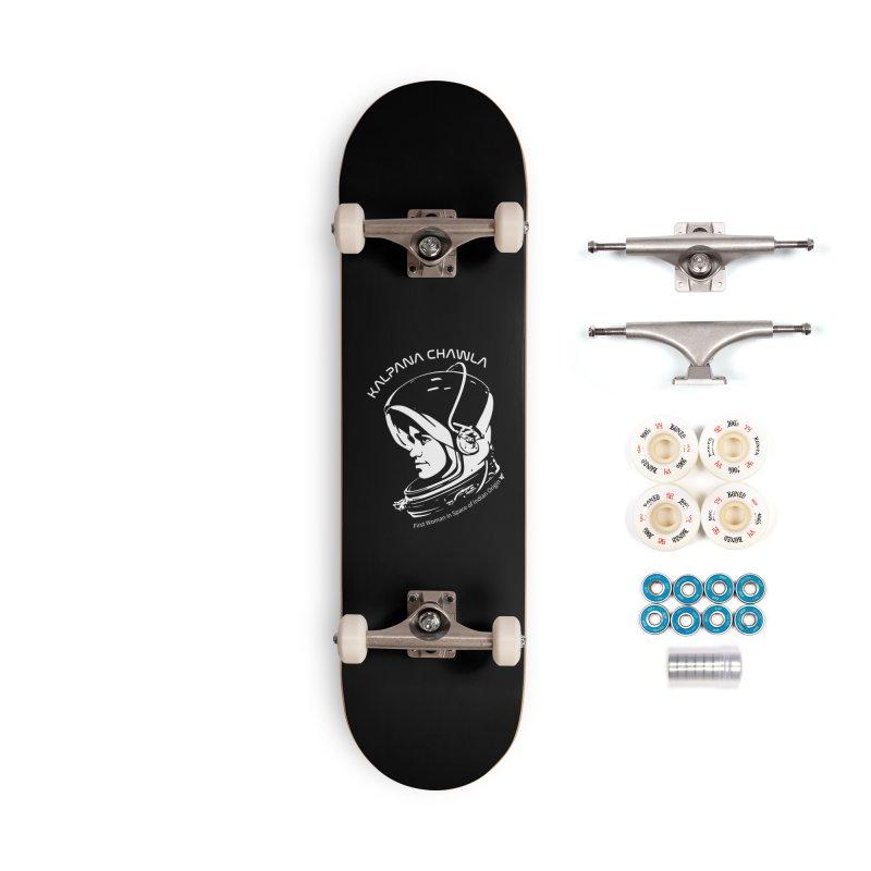 Women in Space: Kalpana Chawla Accessories Complete - Premium Skateboard by Photon Illustration's Artist Shop