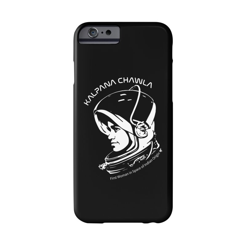 Women in Space: Kalpana Chawla Accessories Phone Case by Photon Illustration's Artist Shop