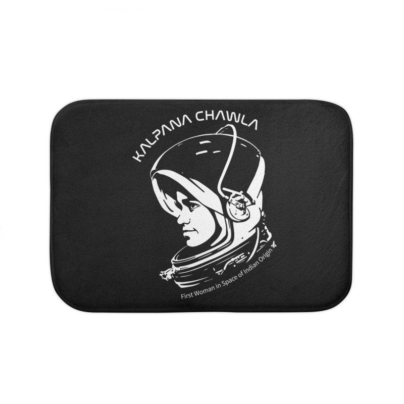 Women in Space: Kalpana Chawla Home Bath Mat by Photon Illustration's Artist Shop