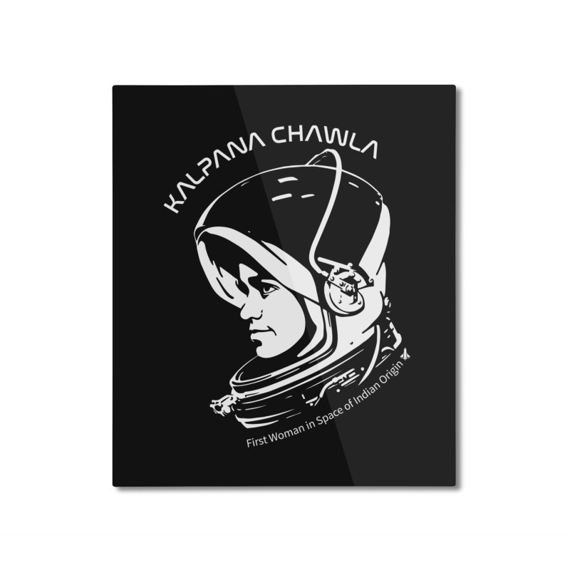 Women in Space: Kalpana Chawla Home Mounted Aluminum Print by Photon Illustration's Artist Shop