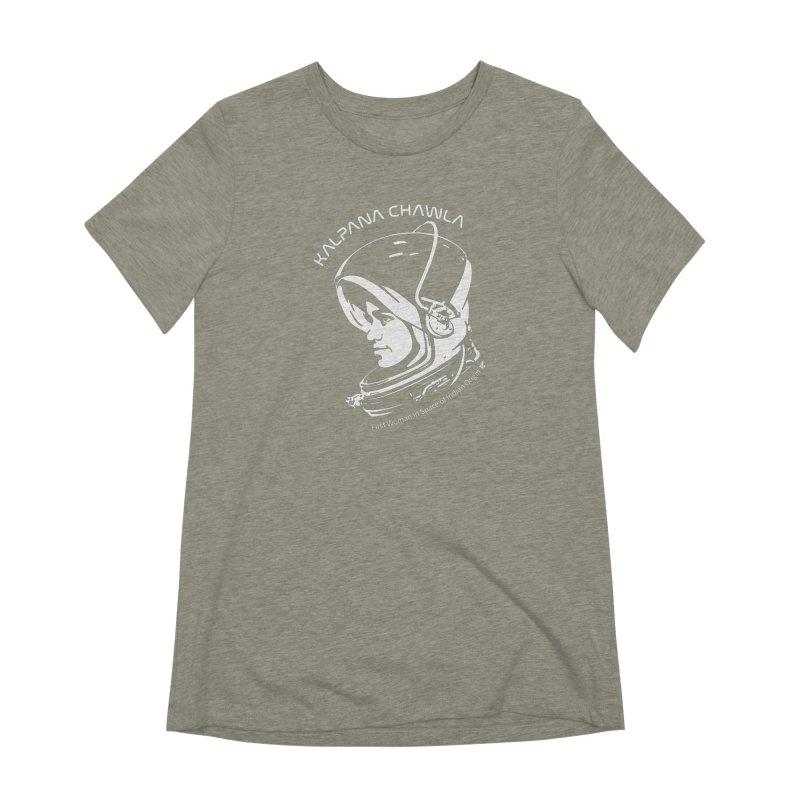 Women in Space: Kalpana Chawla Women's Extra Soft T-Shirt by Photon Illustration's Artist Shop