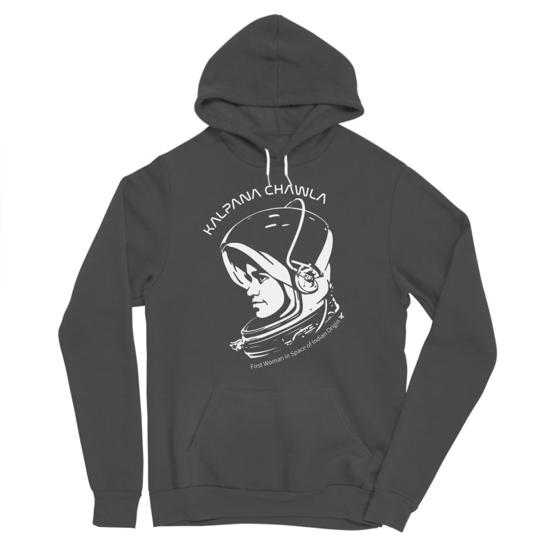 Women in Space: Kalpana Chawla Women's Sponge Fleece Pullover Hoody by Photon Illustration's Artist Shop