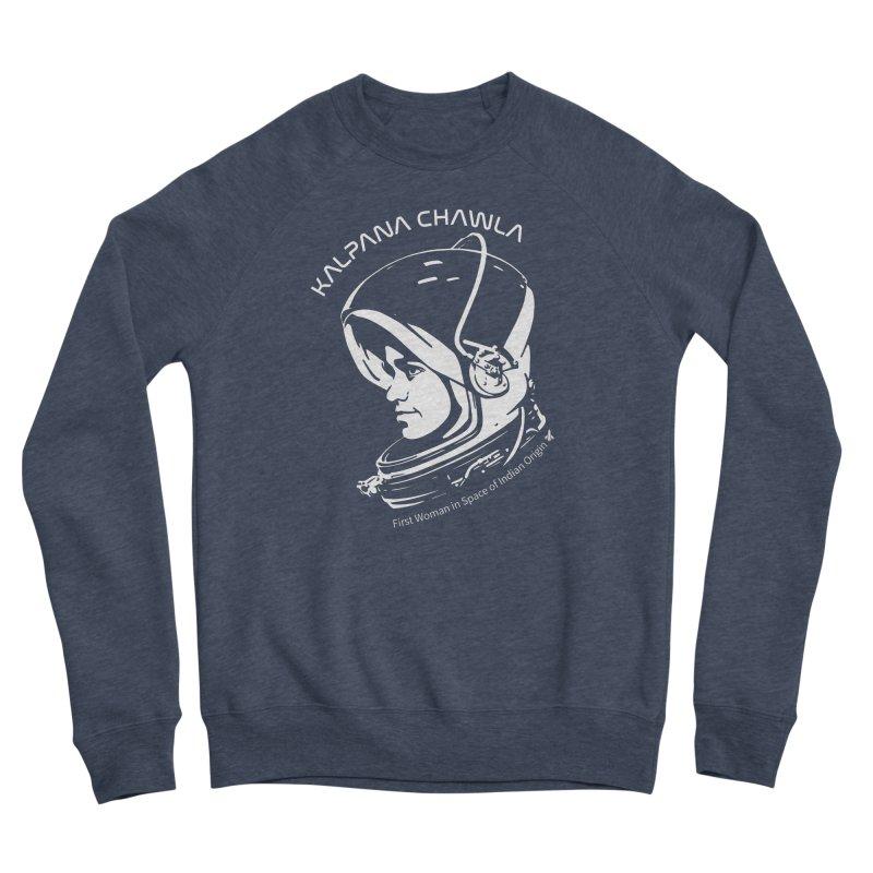 Women in Space: Kalpana Chawla Women's Sponge Fleece Sweatshirt by Photon Illustration's Artist Shop
