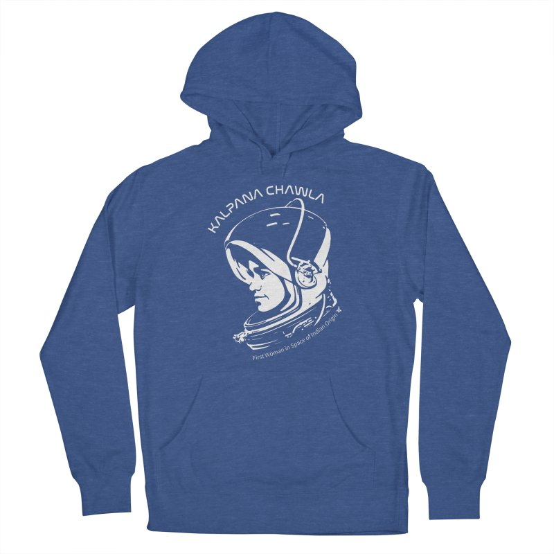 Women in Space: Kalpana Chawla Women's French Terry Pullover Hoody by Photon Illustration's Artist Shop