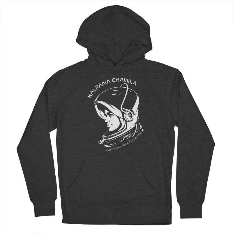 Women in Space: Kalpana Chawla Men's French Terry Pullover Hoody by Photon Illustration's Artist Shop