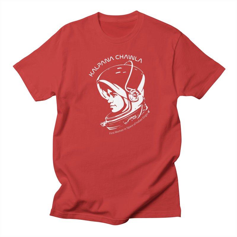 Women in Space: Kalpana Chawla Women's Regular Unisex T-Shirt by Photon Illustration's Artist Shop