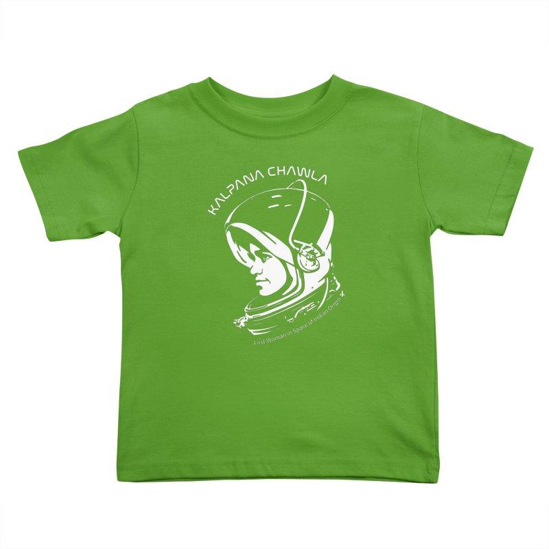 Women in Space: Kalpana Chawla Kids Toddler T-Shirt by Photon Illustration's Artist Shop