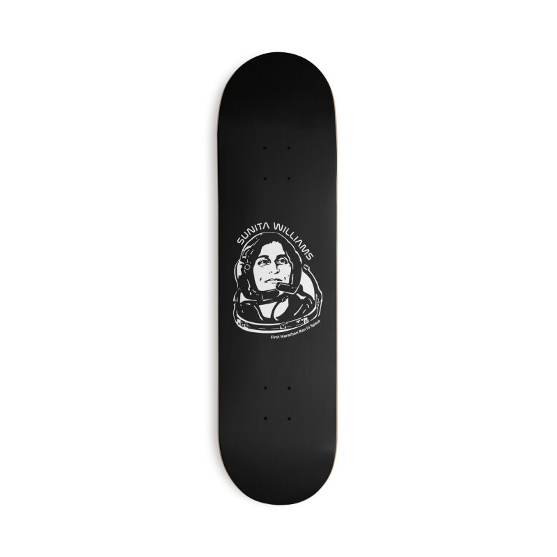 Women in Space: Sunita Williams Accessories Deck Only Skateboard by Photon Illustration's Artist Shop