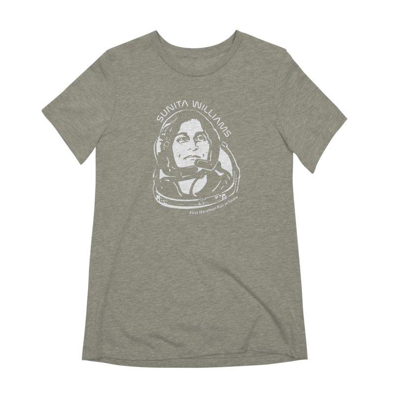 Women in Space: Sunita Williams Women's T-Shirt by Photon Illustration's Artist Shop