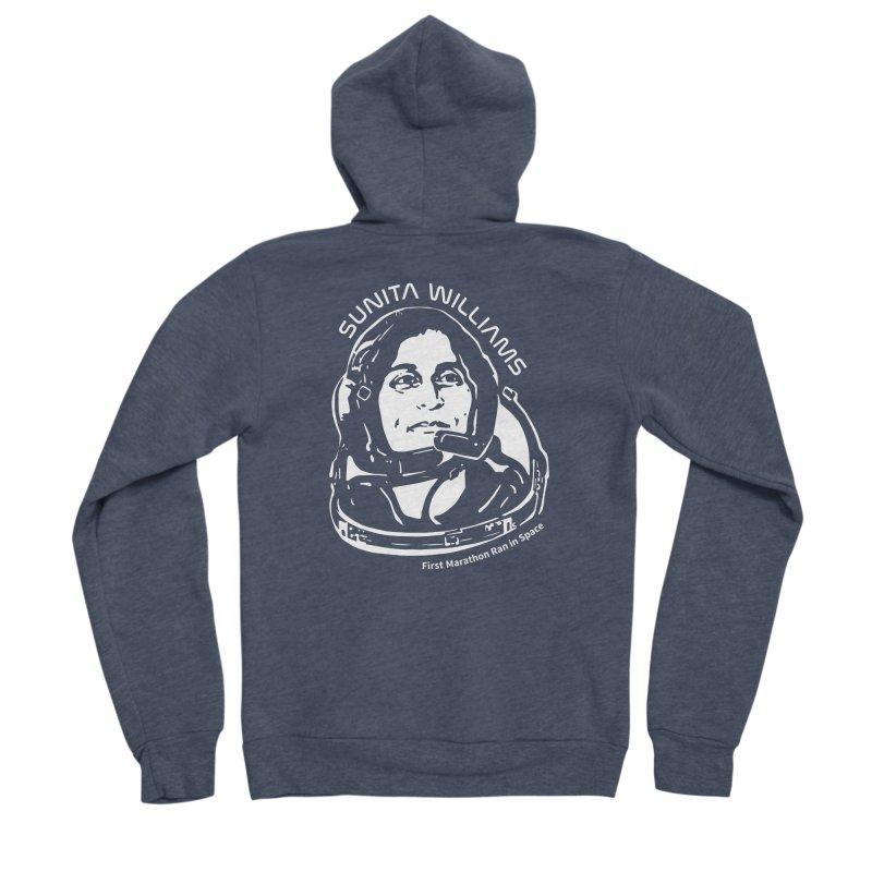 Women in Space: Sunita Williams Women's Zip-Up Hoody by Photon Illustration's Artist Shop